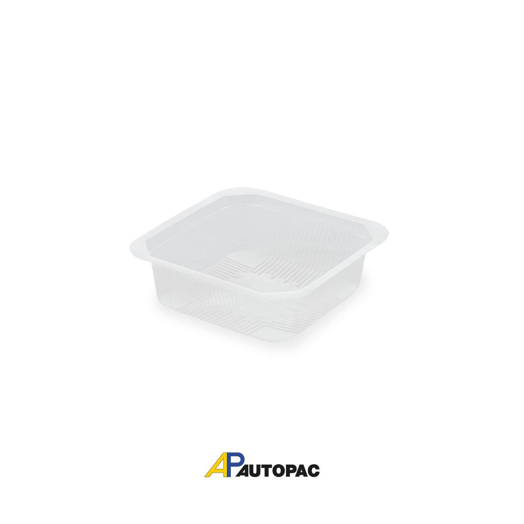 Vaschetta PP trasparente quadrata